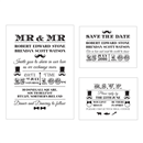 Mr and Mr Wedding Stationery