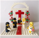 Customised Lego Wedding Cake Toppers