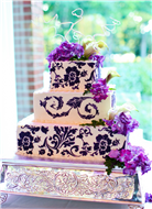 Sweet Expressions Wedding Cakes -Amy Mears-Teitsch