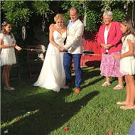 Ceremonies in France - A very personal wedding