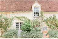 Ceremonies in France - The very pretty Manoir de la Foulquetiere