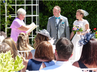 Ceremonies in France - French summer wedding