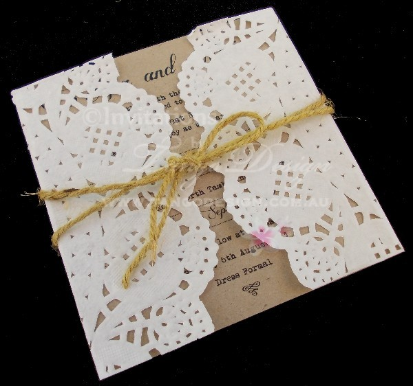 wedding stationary by invitations by tango design in varsity lakes