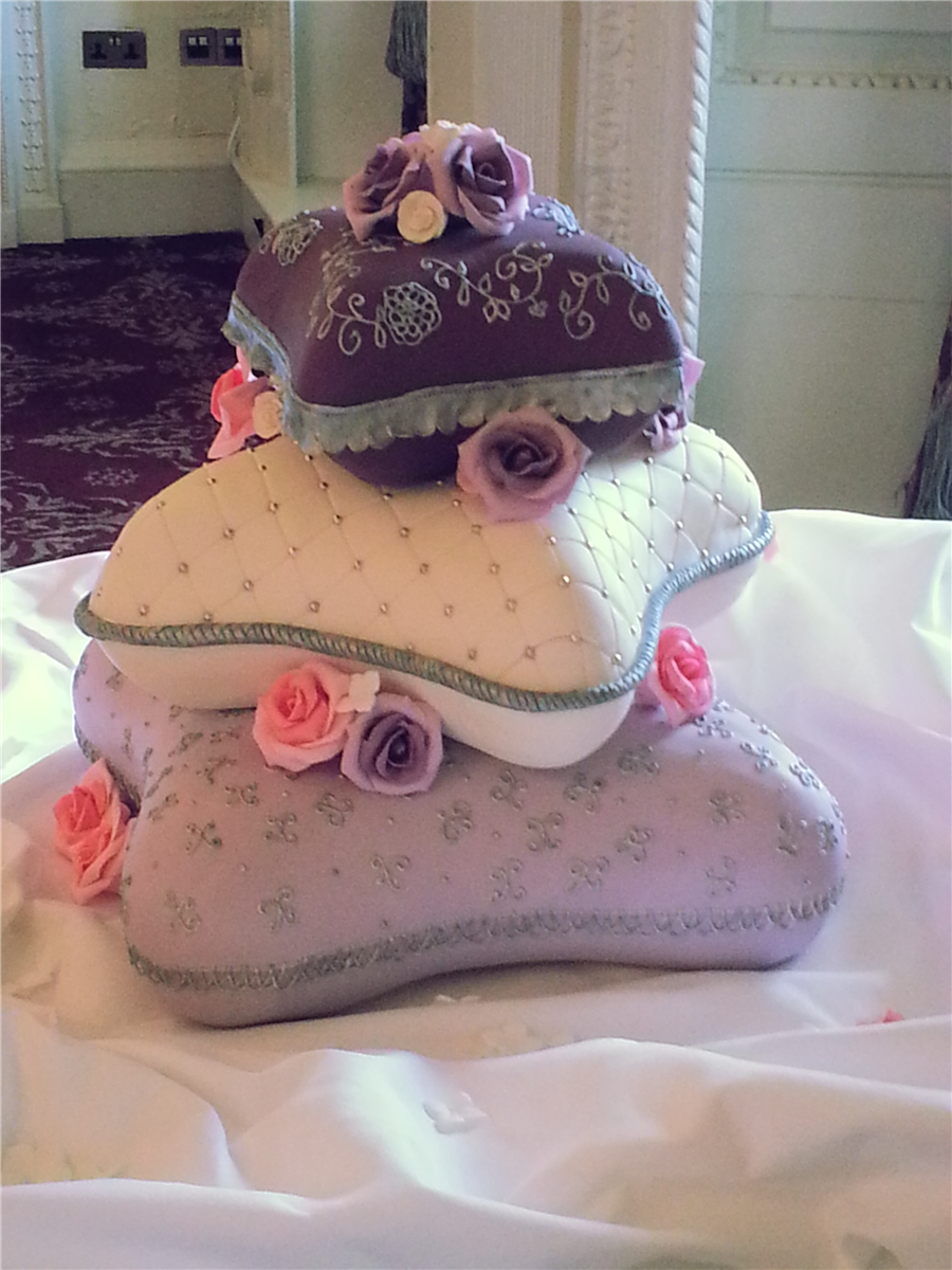тортики подушечка с цветами фото тому