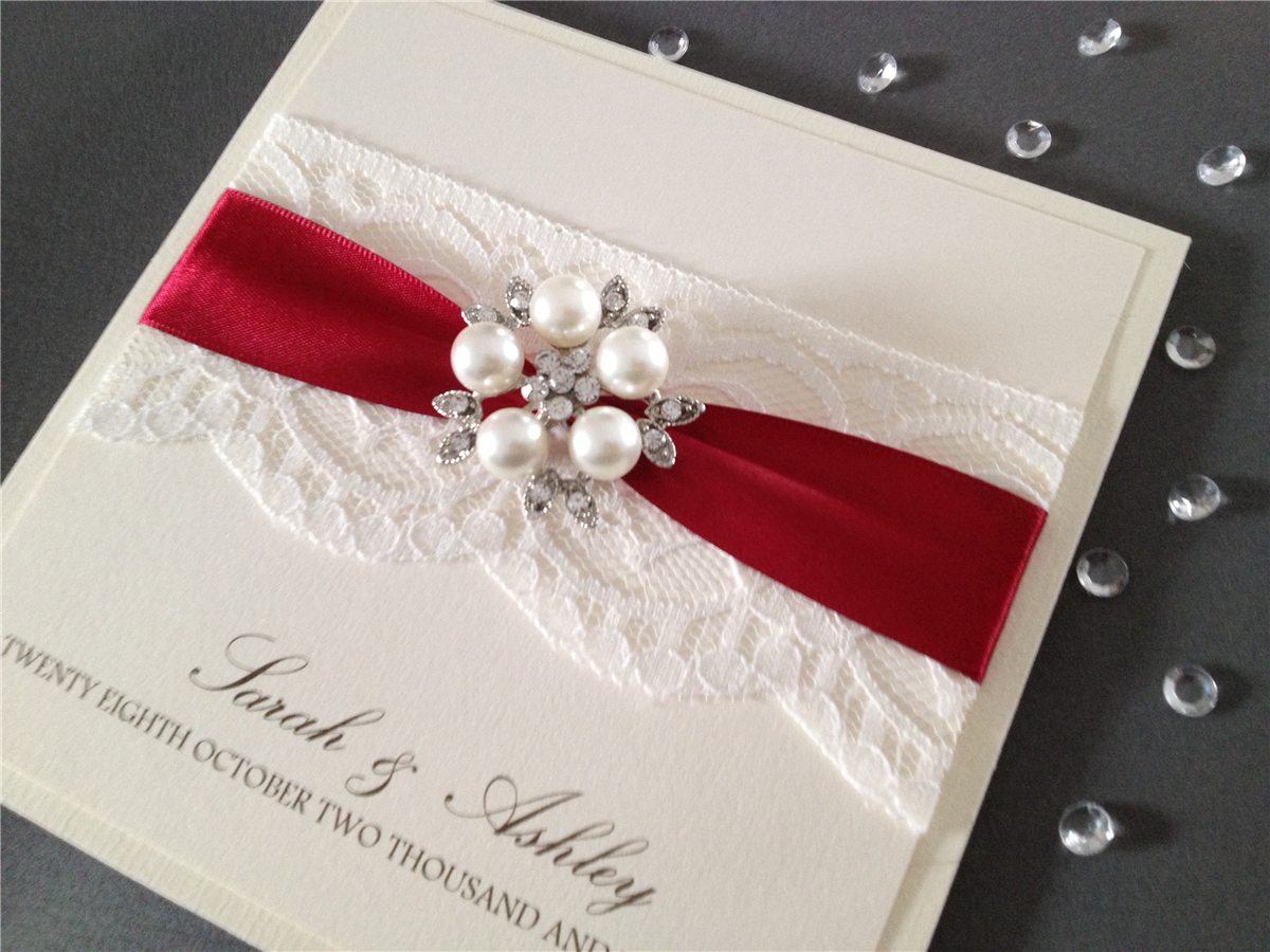 Wedding stationary by Chosen Touches in West yorkshire, England ...