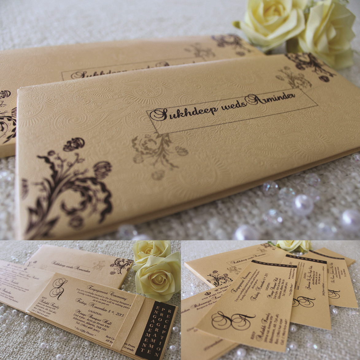 Wedding stationary by Wedding Card Boutique in Surrey, British ...