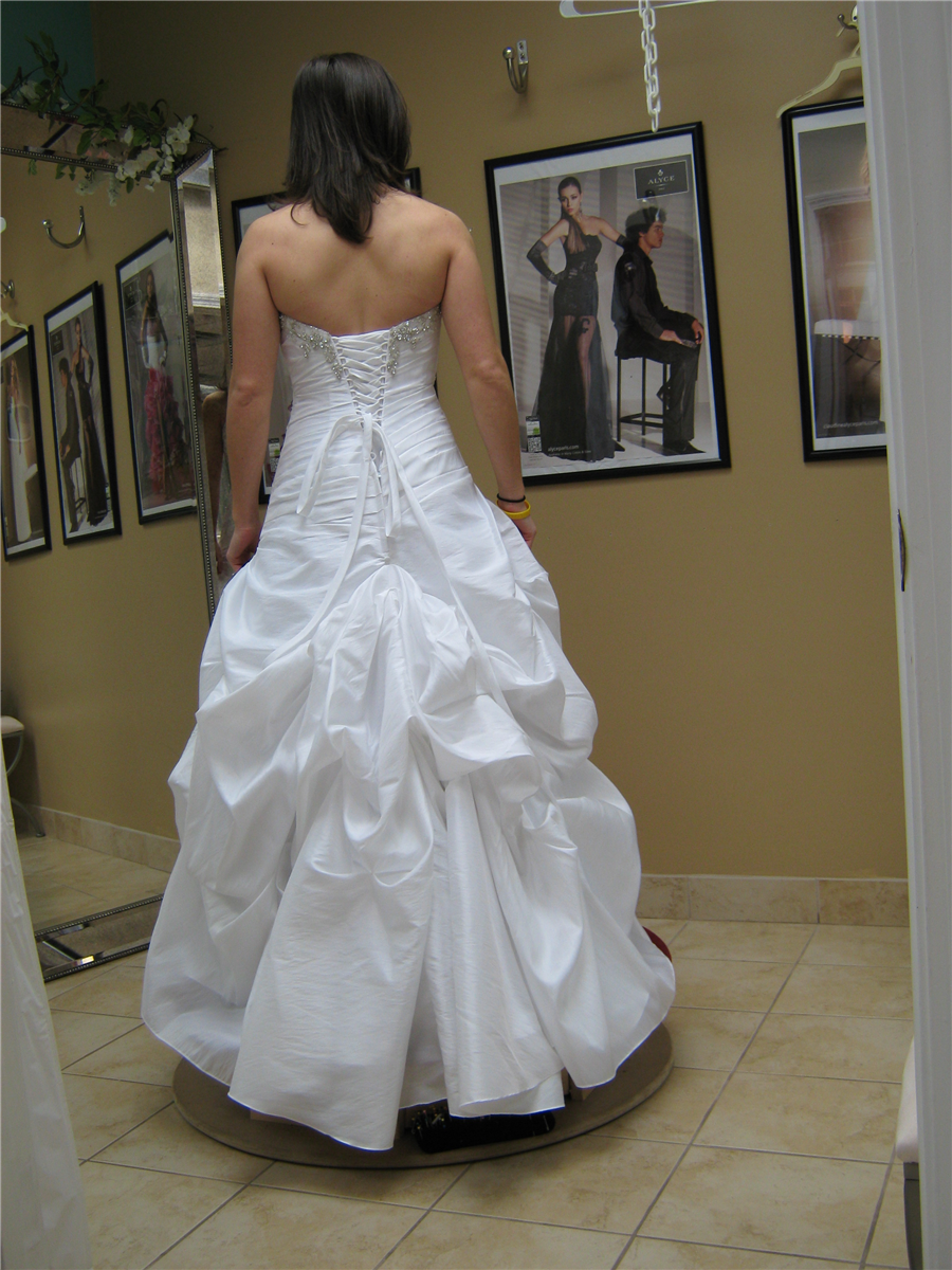 Wedding dresses from Julia's Alterations in Hudson