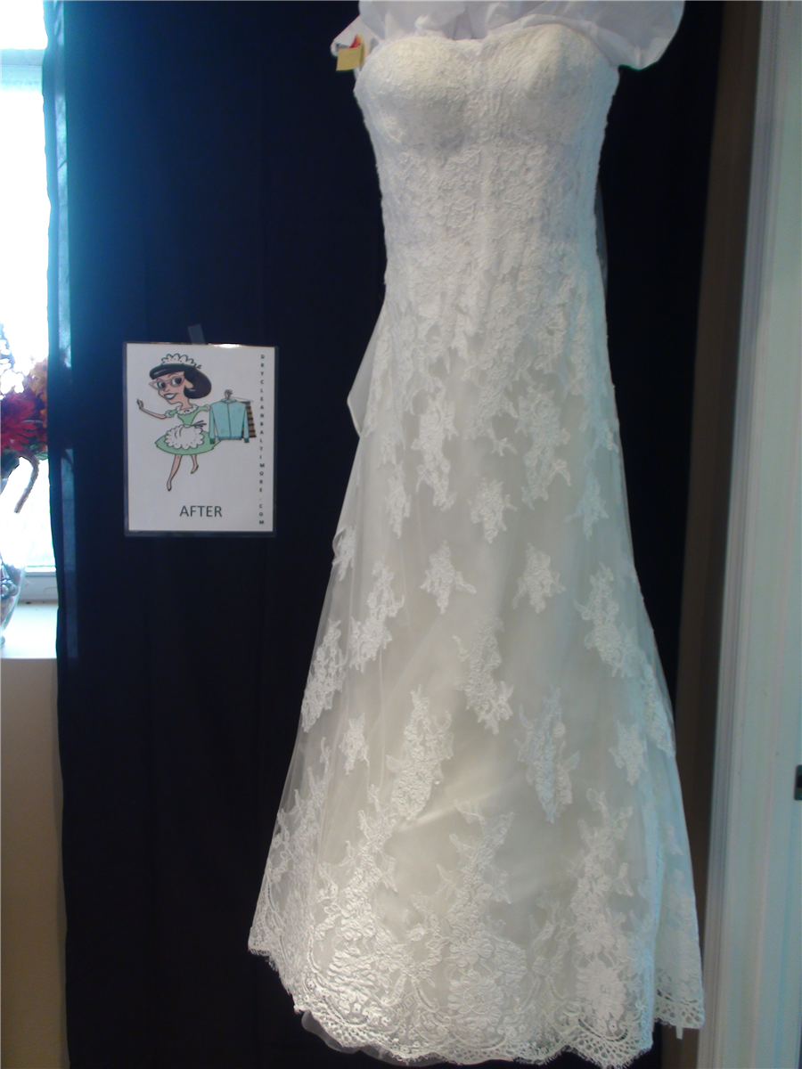 Wedding dresses from dry clean baltimore in baltimore for Dry clean wedding dress