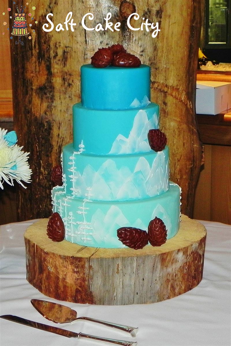 Weddingcakes By Salt Cake City Jennifer Hill In South