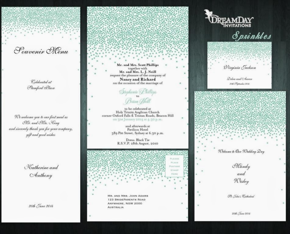 Wedding Stationary By Dream Day Invitations Tess Dissa In