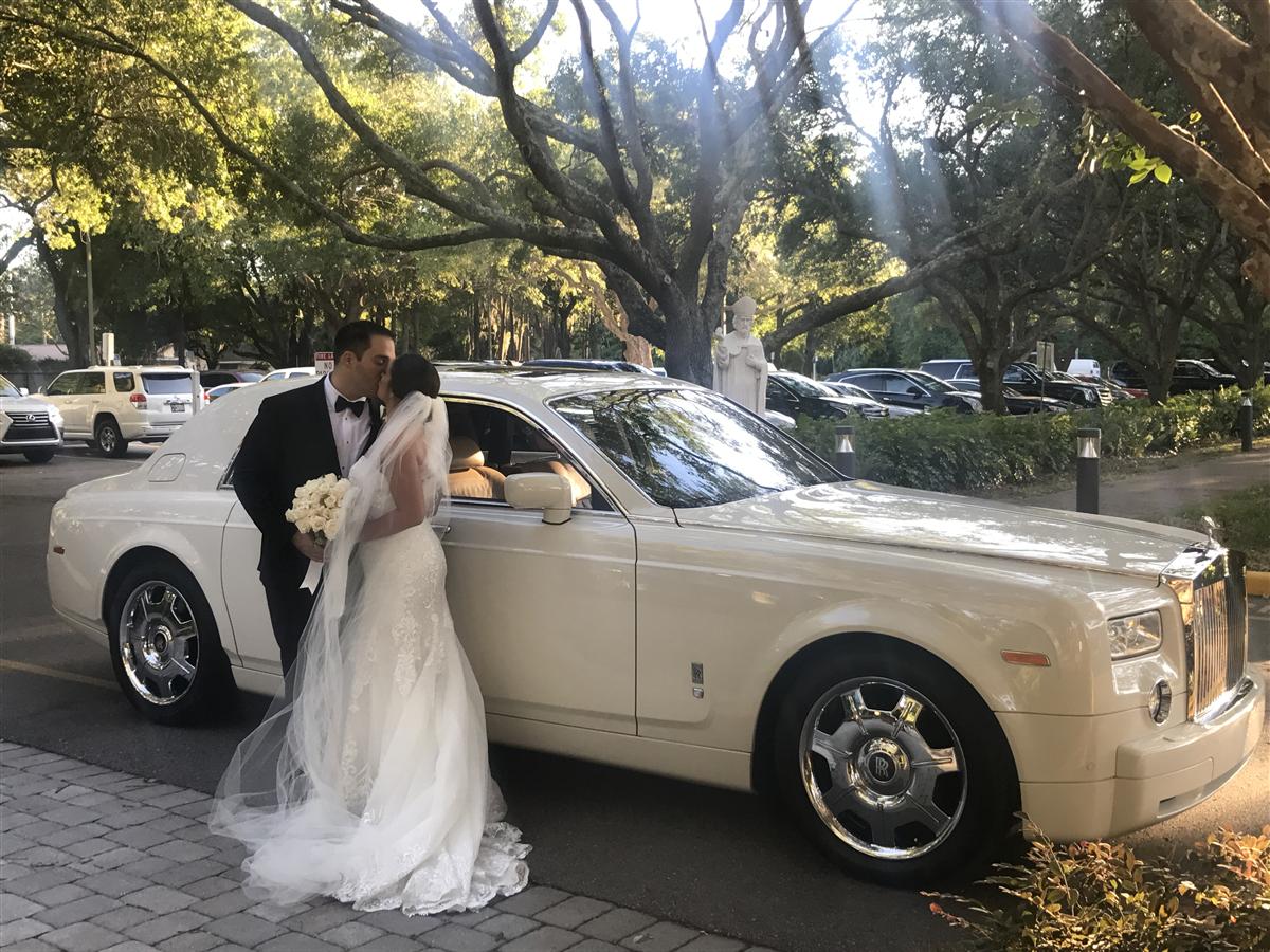 Luxury Car Wedding Rental Orlando