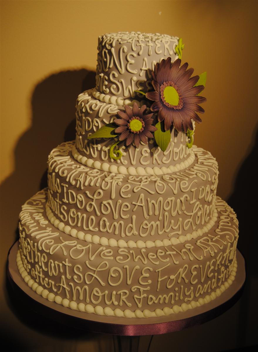 Weddingcakes By Artistic Cake Design In Ottawa Ontario