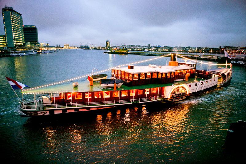Wedding Venue Raderboot Kapitein Anna In Amsterdam Noord